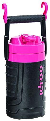 Igloo 1/2 gallon Insulated Hydration Jug, Black / Hot Rod Pi