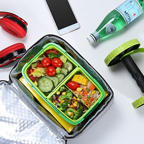 Lifewit Lunch Reusable Lunch Box, Lunch Bag for Picnic/Meal Prep/Work,