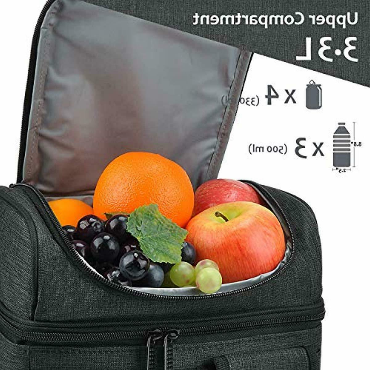 1Insulated Lunch Bag, Leakproof Thermal Cooler for NeW