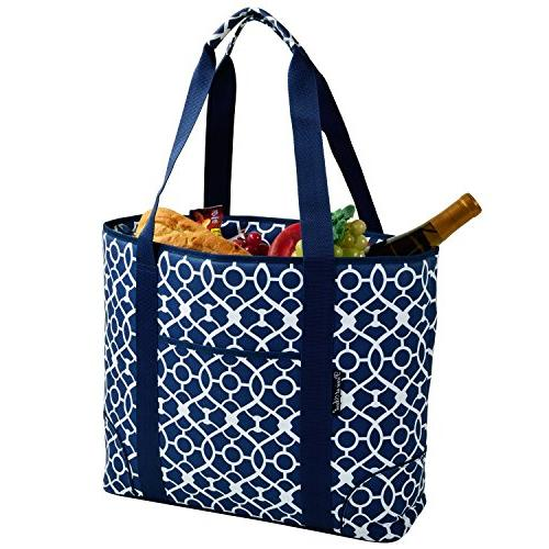 Blue Extra Large Insulated Tote