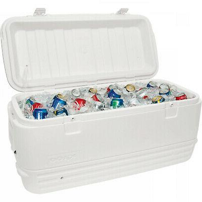 120-Qt Large Igloo Cooler Ice Chest Patio Outdoor Backyard P