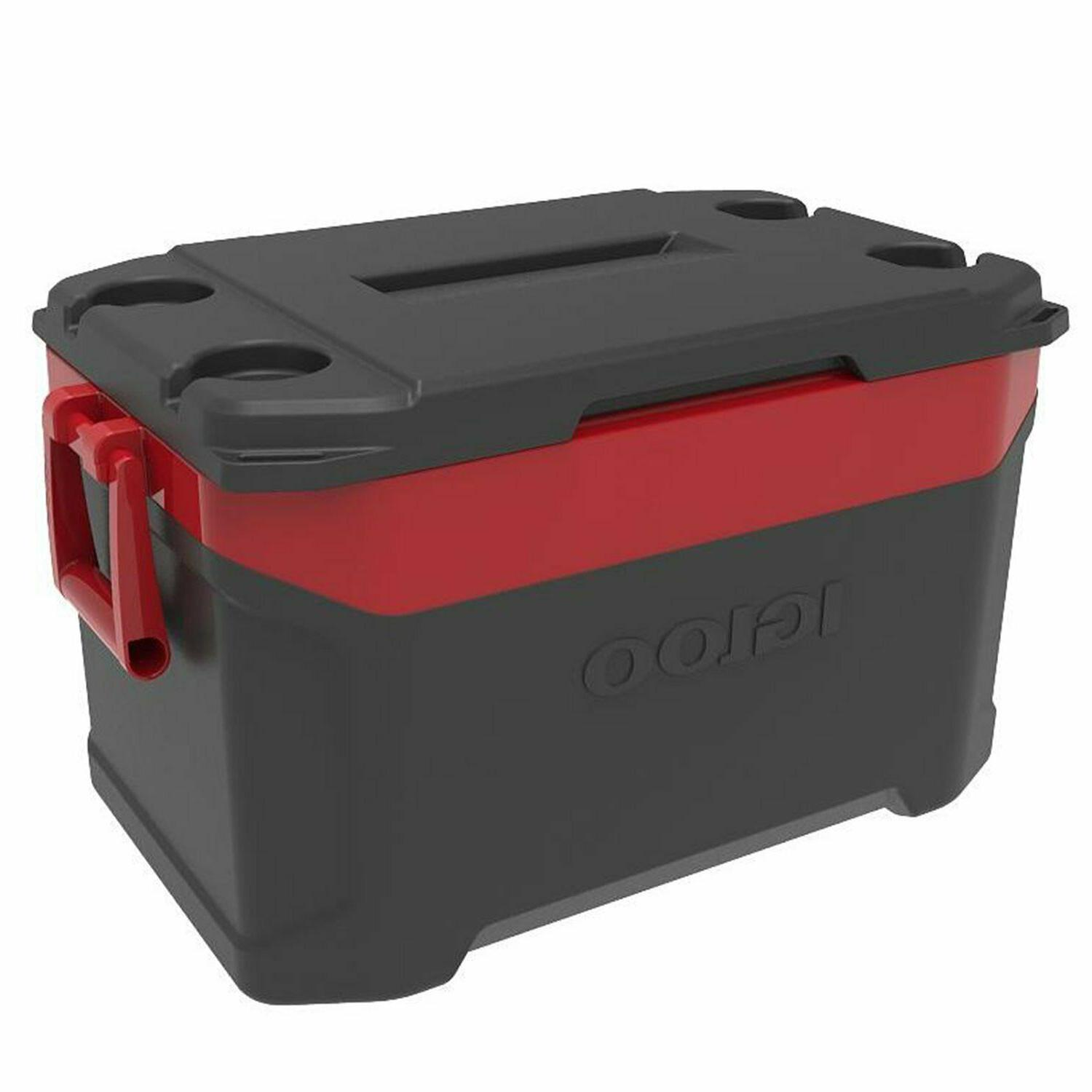 latitude ice chest cooler jet carbon red