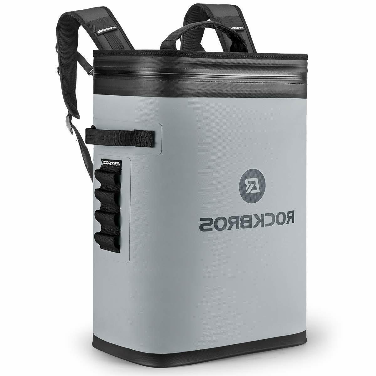 leak proof soft sided cooler backpack waterproof