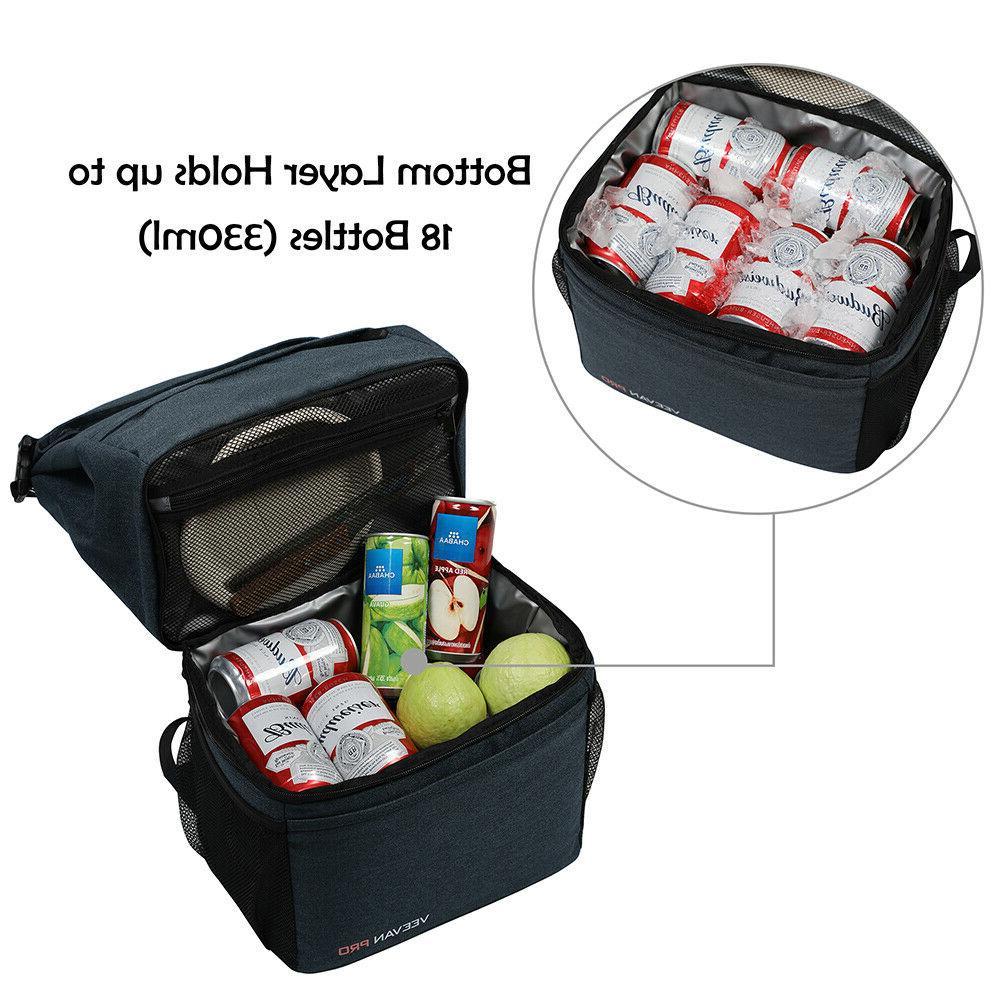 Leakproof Cooler Backpack Insulated Bag 18
