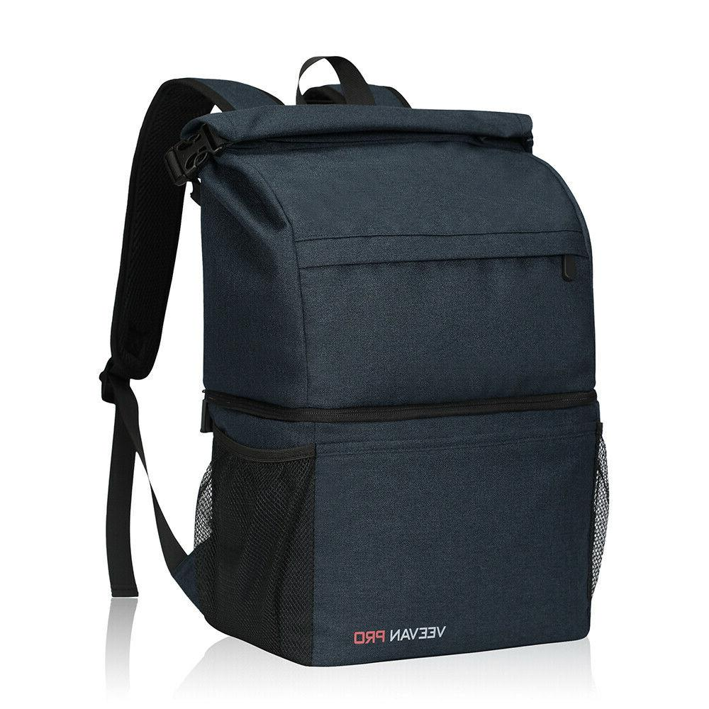 leakproof double layers camping cooler backpack large