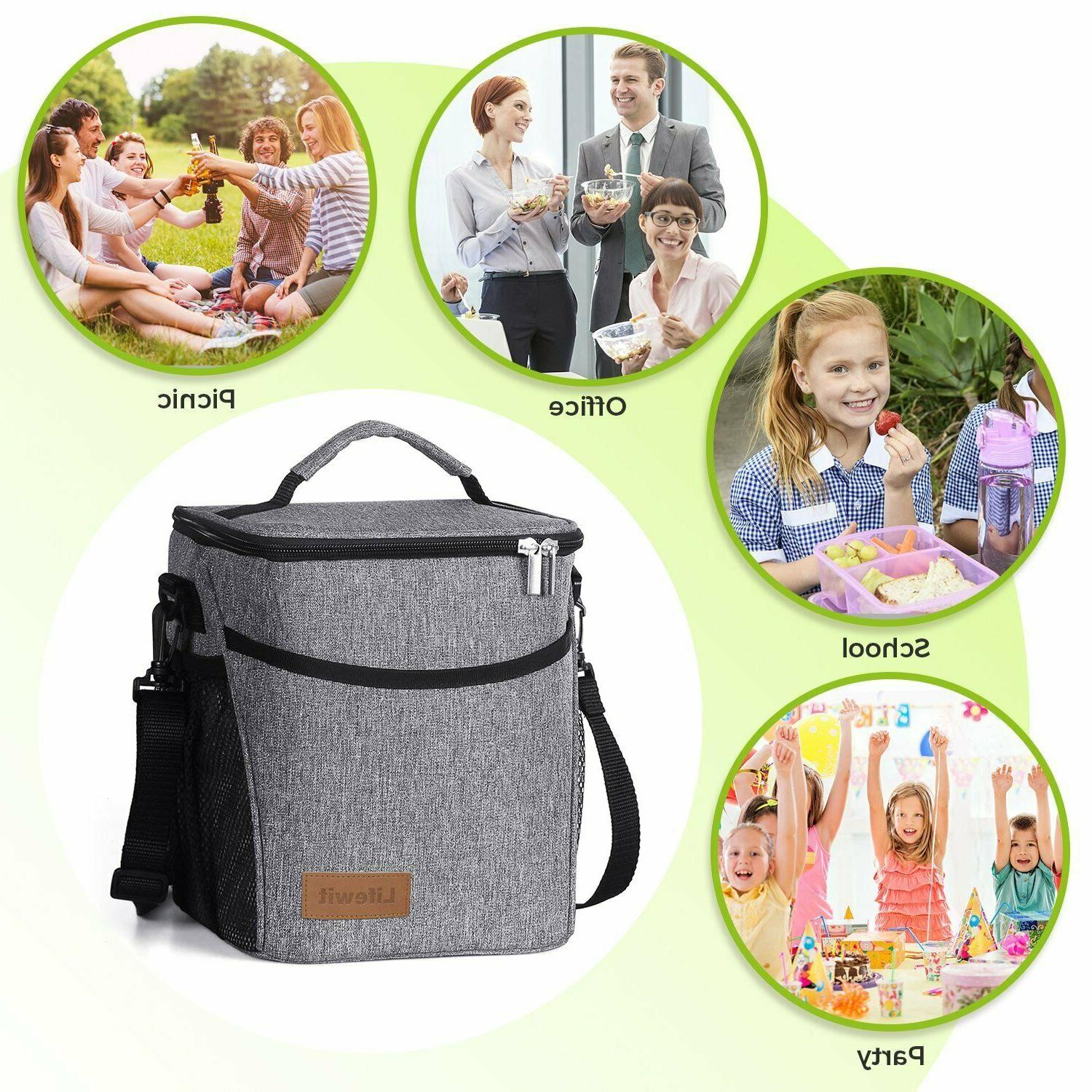 Lifewit 9L Large Insulated Lunch Bag Waterproof Cooler