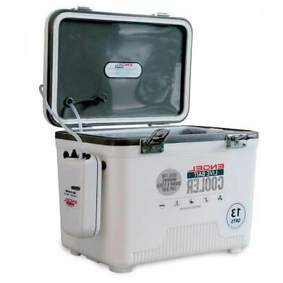 live bait coolers white