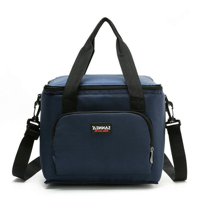 lunch box insulated lunch bag large double