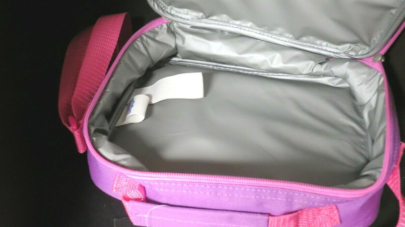 Peppa Pig NEW! School, Kids Embossed , Purple Pink strap