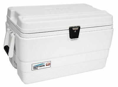 marine ultra cooler white 54 quart