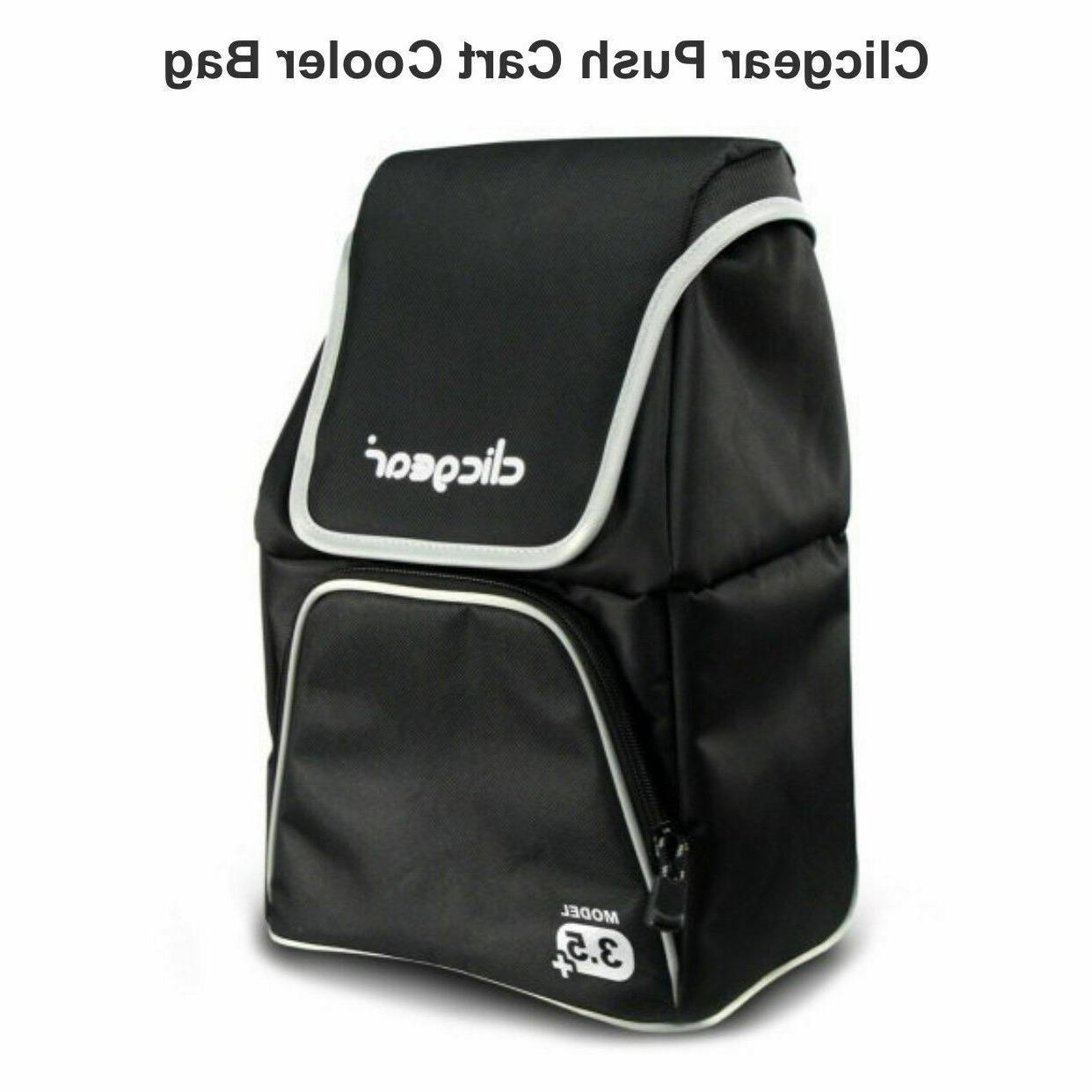 New Push/Pull Golf Cooler Drink Bag