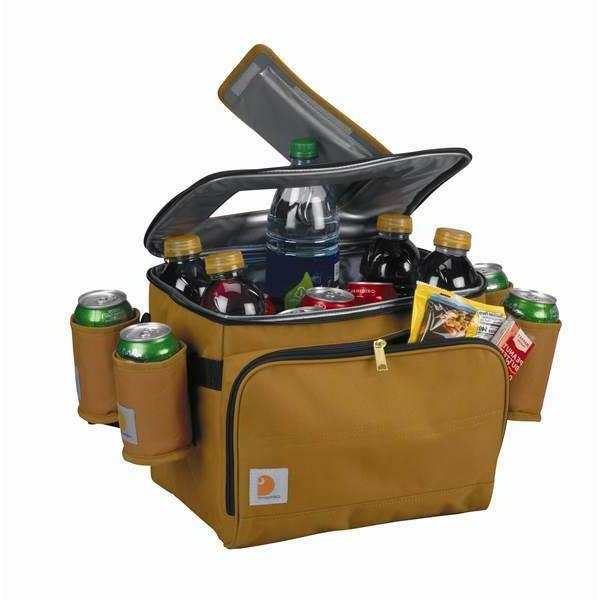 new 3 deluxe cooler w beverage sleeves