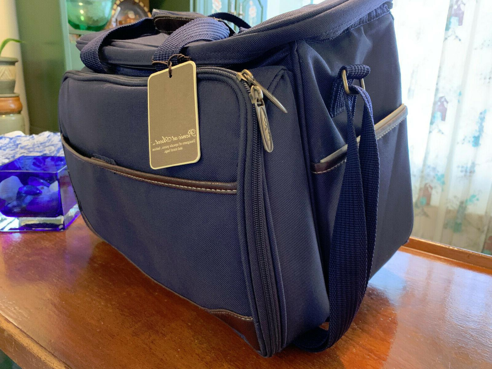New Complete Picnic Ascot Leather Cooler