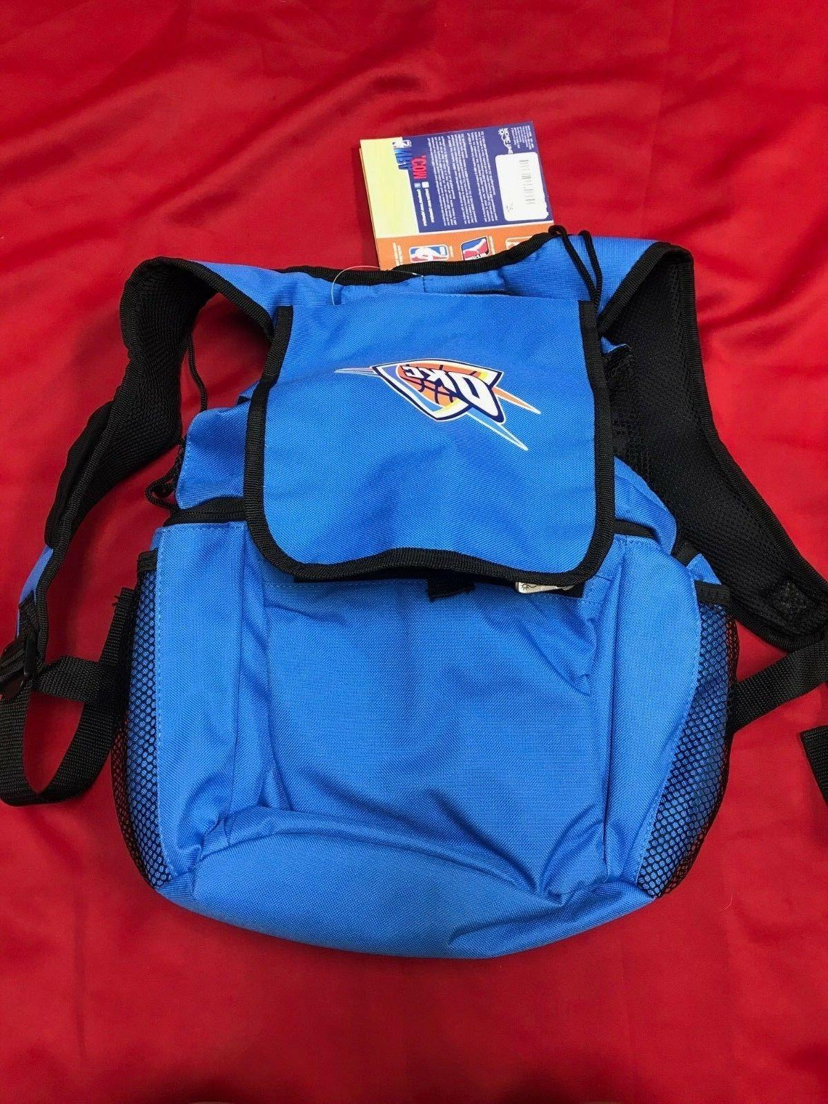 Oklahoma City Thunder-Zuma Cooler Backpack by Picnic Time Bl