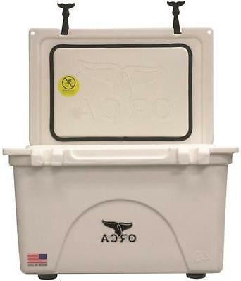 NEW ORCA ORCW040 WHITE COLORED 40 QUART INSULATED ICE CHEST