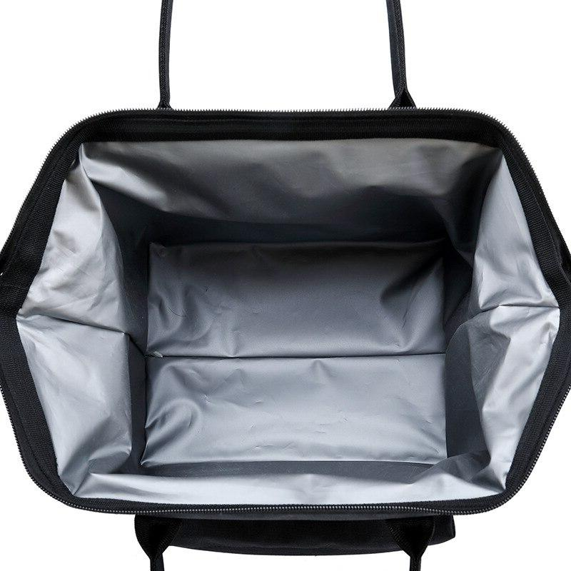 Oxford <font><b>Large</b></font> Capacity Lunch Bag Insulation Keeping Picnic Travel Tote