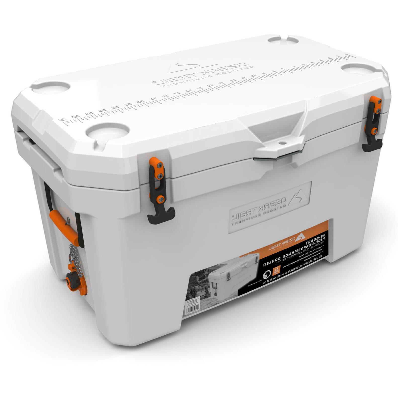 ozark trail 52 quart high performance cooler