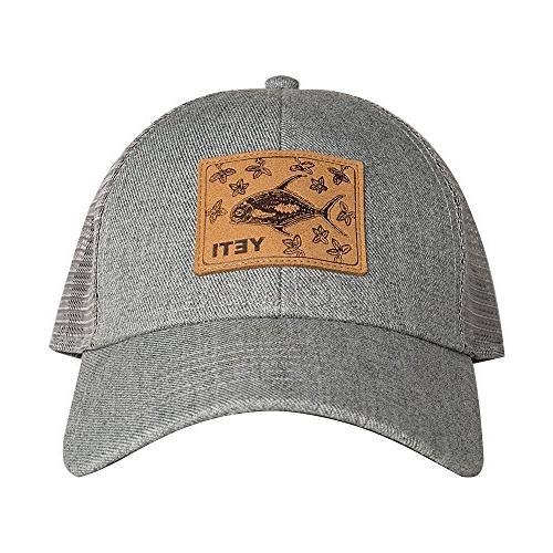 permit mangroves patch trucker hat
