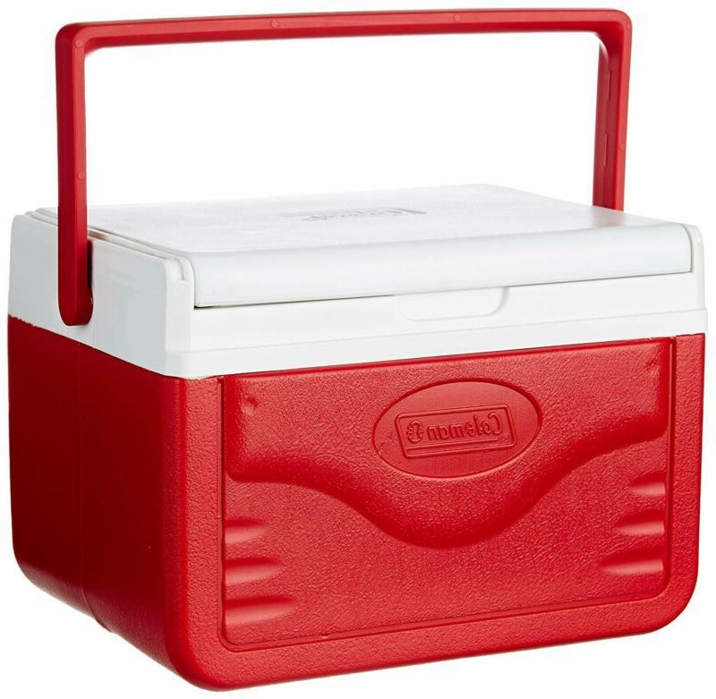 Personal Cooler Ice 5 Camping RED