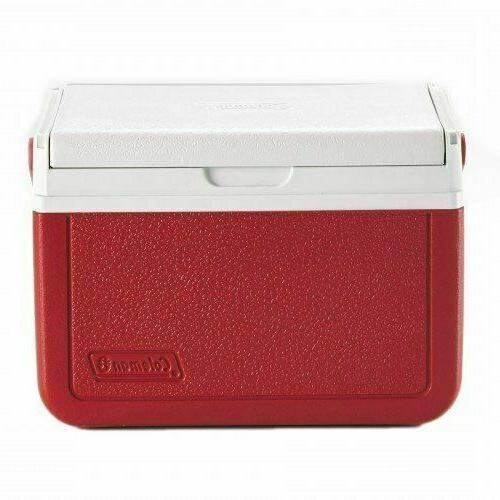 Personal Cooler Ice Lunch 5 Camping RED