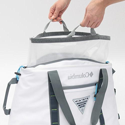 Columbia 65 Perfect Cast Ultimate Thermal Tote, Capacity, White