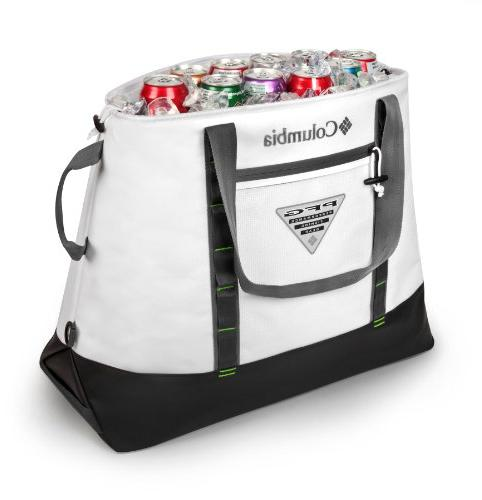 Columbia Perfect Ultimate Thermal Tote, 45 L. White