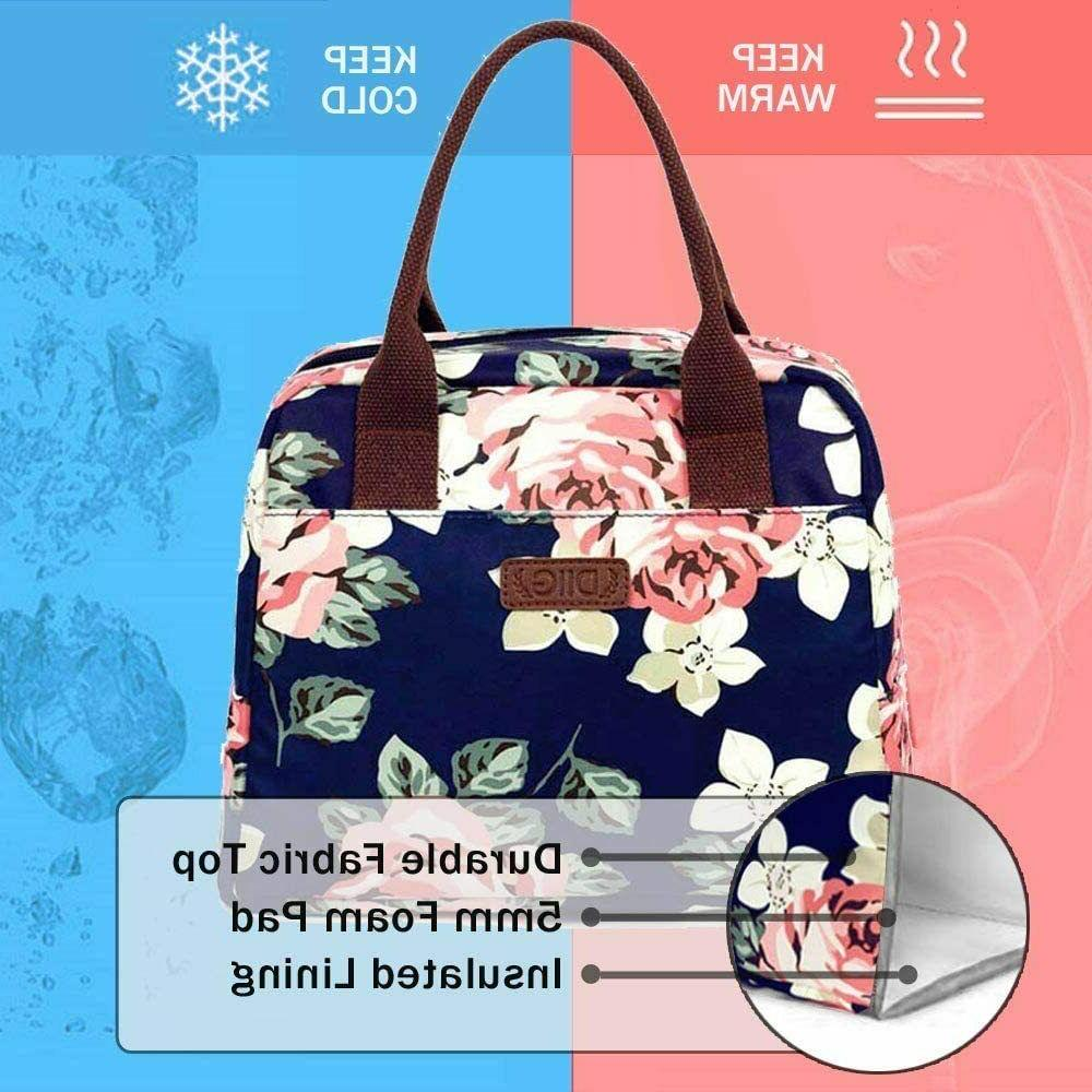 Portable 7.5L Thermal Lunch Women Navy