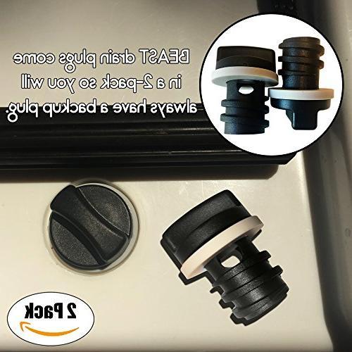 2-Pack Plugs Yeti - Plug Line of and TANK