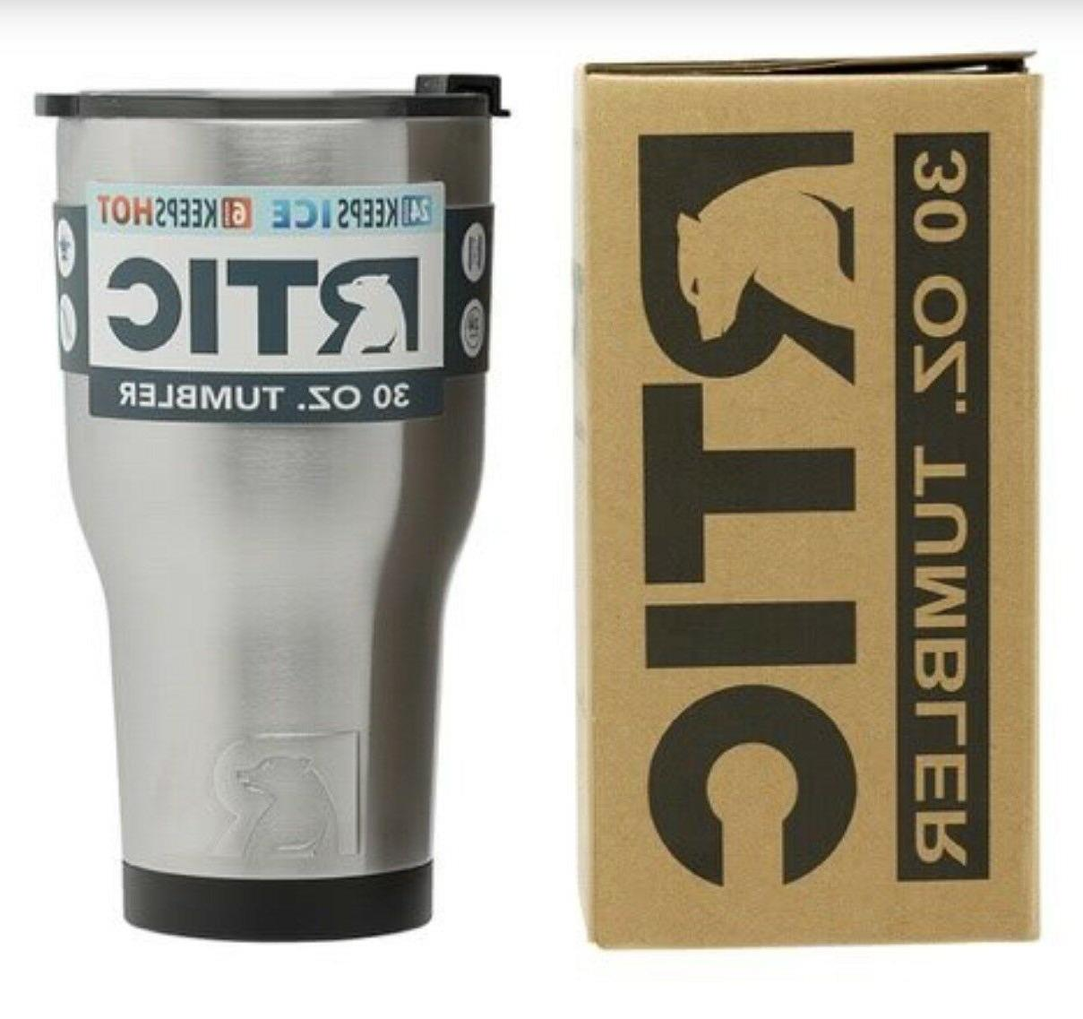 RTIC 30oz Steel Tumbler with 2017 lid