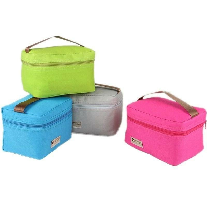 small cooler bag insulated liner thermal lunch