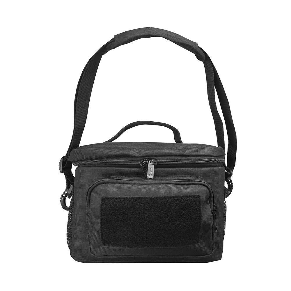VISM Black Small Insulated Lunch