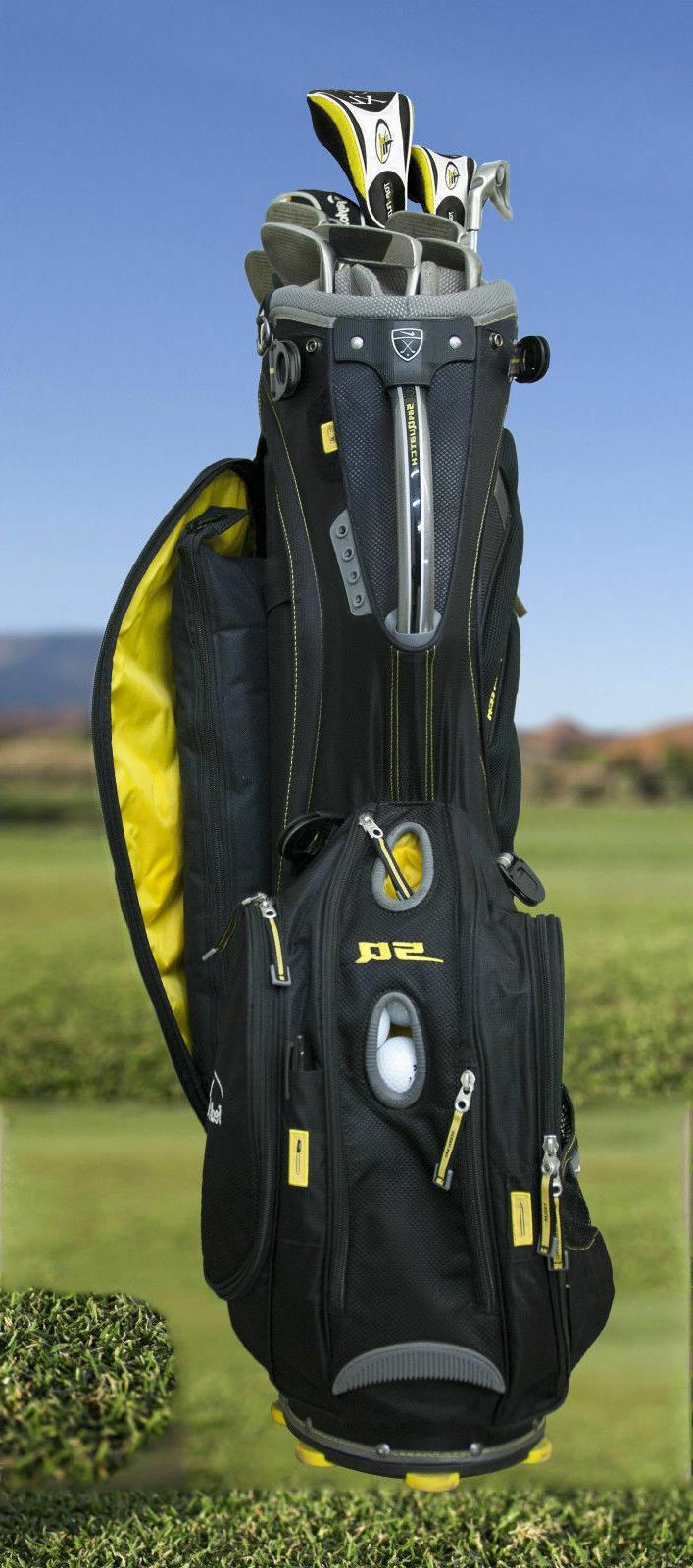 Smuggler Golf Bag Soft Sided Drink Cooler Holds 6 cans