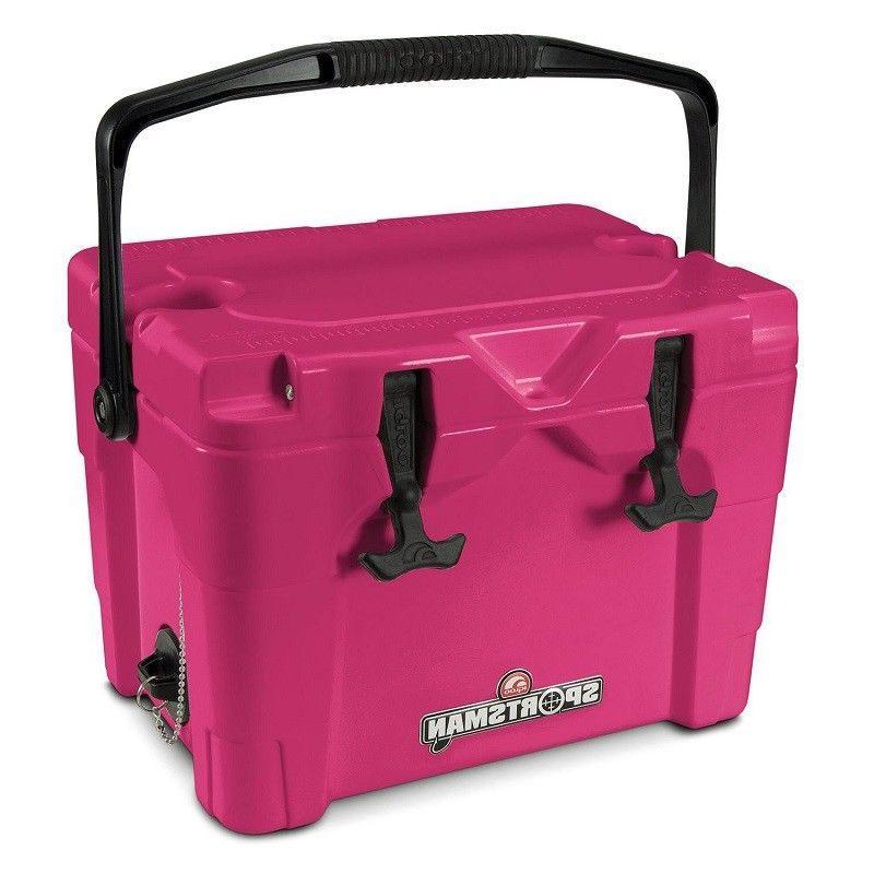 sportsman 20qt cooler pink 194427 43943