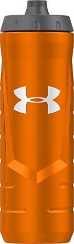 Under Armour Sideline 32 Ounce Squeezable Bottle, Blaze Oran