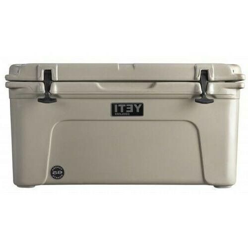tundra 65 quart cooler ice chest tan