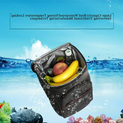 US Insulated Lunch Bag Picnic Camping Cooler
