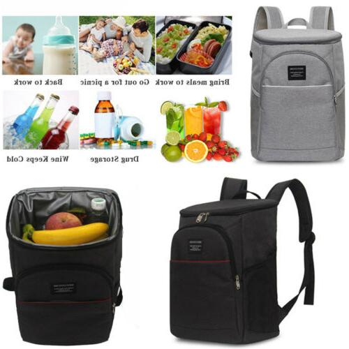 us 20l insulated cooling lunch box bag