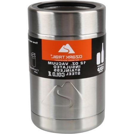 vacuum insulated stainless steel can