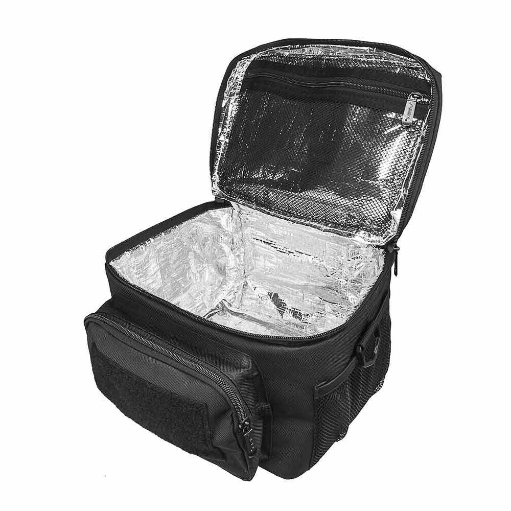 VISM NcSTAR CVKOLS3022B Black Small Insulated Lunch Bag