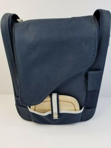 wine and cheese cooler bag equipped