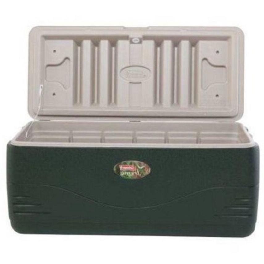 Coleman Cooler Green Ice Large Coolers Camping Storage
