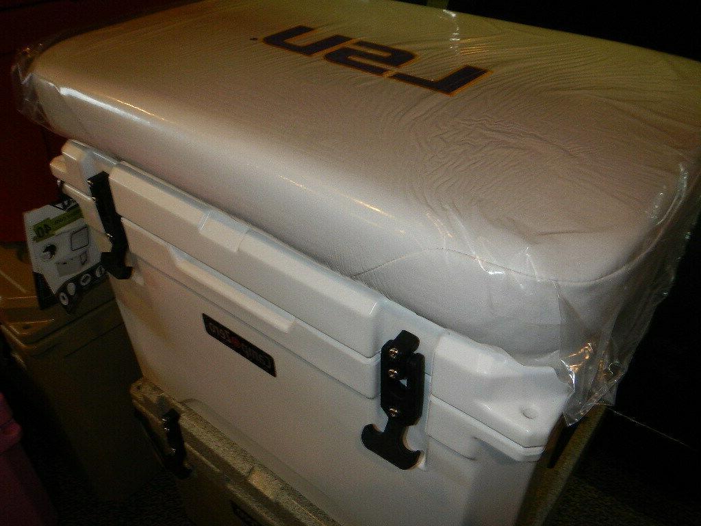 Yeti 50 qt Others Cushion White LSU SHIPPING