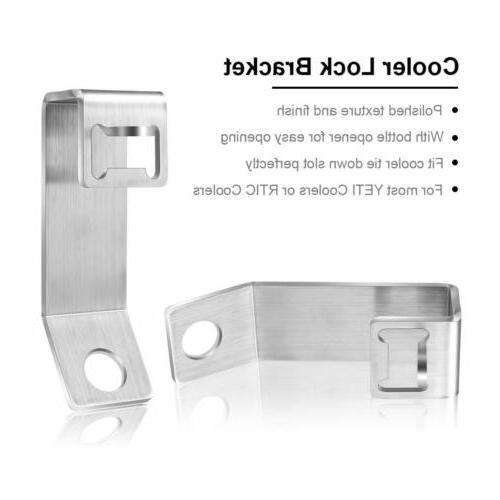 YETI/RTIC Lock Cooler Metal Lock