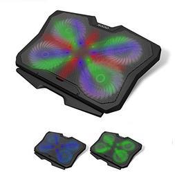GARUNK Laptop Cooler Cooling Pad for 13.3-17 inch Laptop / P