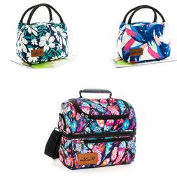 Large&Small Insulated Lunch Bag for Women Men Thermal Cooler