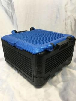 large cooler insulation box blue fits 45
