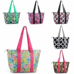 Large Insulated Lunch Bag Cooler Picnic Travel Food Box Wome