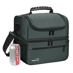 Large Insulated Lunch Bag Totes Cooler Leakproof Container f