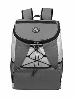GigaTent Large Padded Backpack Cooler - Fully Insulated, Lea