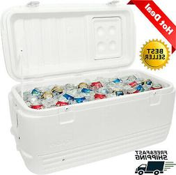 Large Quick Cooler Ice Chest Tailgating Marine Camping Fishi
